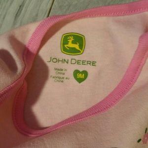 John Deere One Pieces - John Deere Long Sleeve Onesie